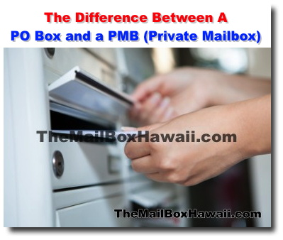 The Difference Between A PO Box and a PMB (Private Mailbox
